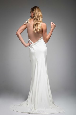 back-of-unique-asymmetrical-wedding-dress-with-one-shoulder-illusion-low-back-iman-sarah-janks