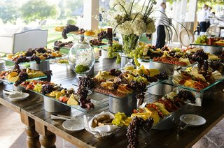 cocktail-hour-with-fruit-cheese-and-meat-display