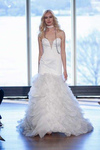 rivini-ziggy-drop-waist-wedding-dress-with-ruffle-skirt-strapless-sparkle-detail-at-neckline