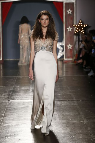 jenny-packham-2018-collection-awe-crepe-crystal-embellished-barley-hued-gown-plunging-neckline
