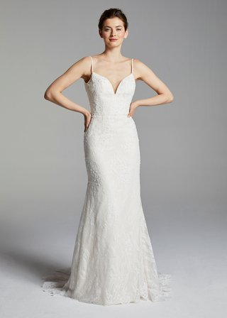 anne-barge-blue-willow-bride-spring-2019-wedding-dress-veronica-spaghetti-strap-v-neck-lace-gown