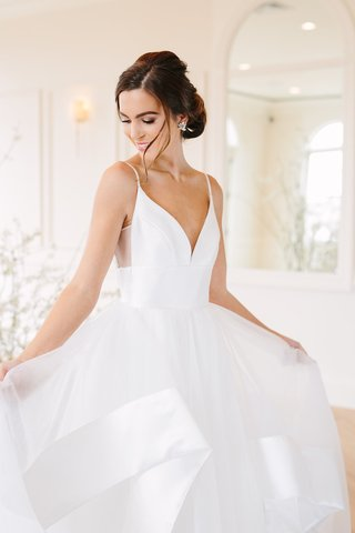 hayley-paige-wedding-dress-with-plunging-neckline-spaghetti-straps-sheer-cutout-satin-trim-tulle