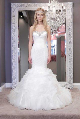 winnie-chlomin-2016-mermaid-wedding-dress-with-strapless-jewel-neckline-and-ruching