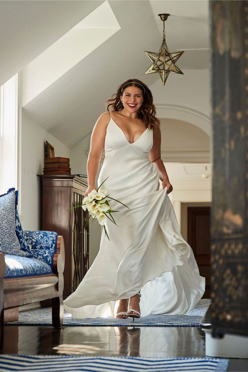 """Marnie"" Old Hollywood-Inspired Wedding Dress"