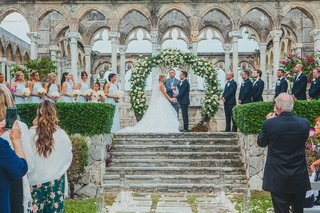 the-ocean-club-four-seasons-bahamas-wedding-ceremony-in-front-of-the-cloisters