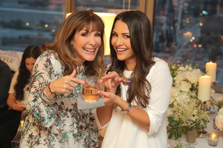 The Bachelorette Andi Dorfman with celebrity wedding planner Mindy Weiss