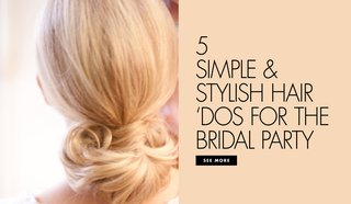 5-easy-hairstyles-wedding-bride-bridesmaids-simple-curly-wavy-up-do-pretty-buns
