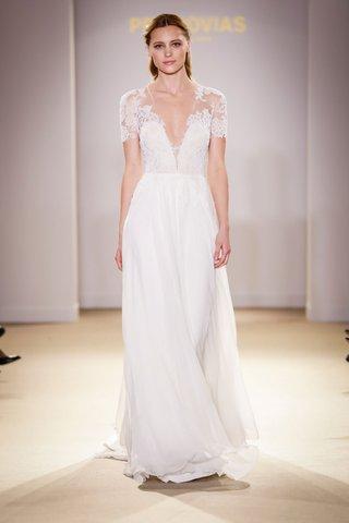 atelier-pronovias-2019-bridal-collection-wedding-dresses-short-sleeve-illusion-gown-sheath