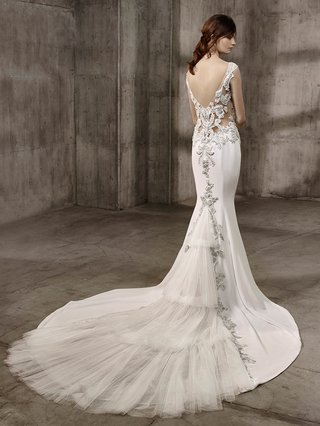badgley-mischka-bride-2017-asha-wedding-dress-with-illusion-details-jewels-layered-tiered-train-silk