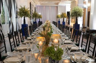 blue-and-white-wedding-green-and-gold-decor-details