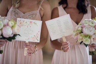 ceremony-program-ideas-ceremony-program-on-fan-floral-ceremony-program