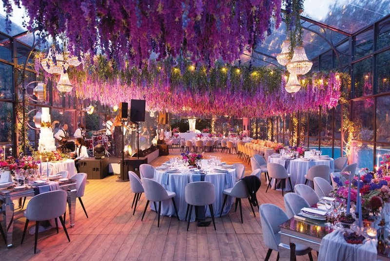 Stunning Greenhouse-Inspired Reception