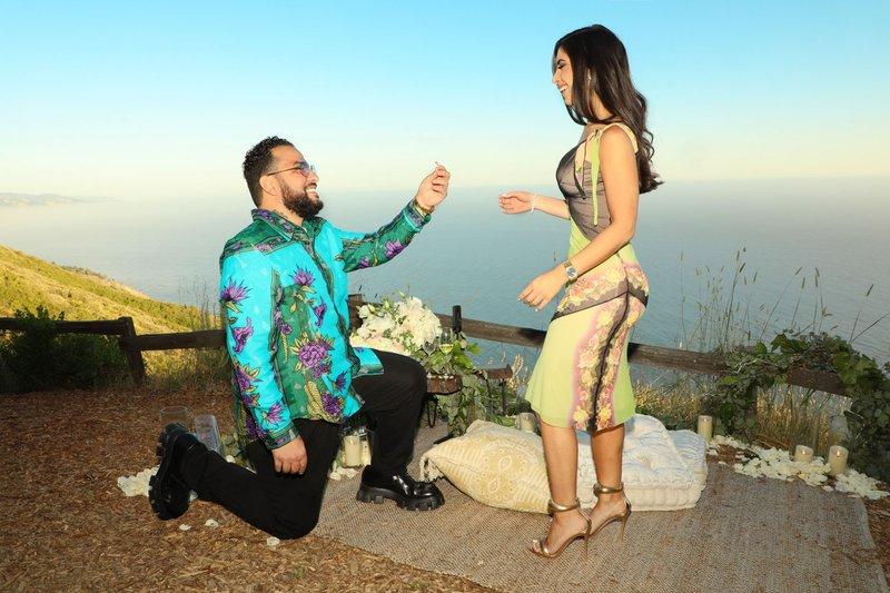Belly Proposing to Dina Rabadi