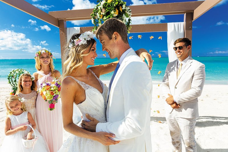 Wedding Ceremony at Beaches Resorts