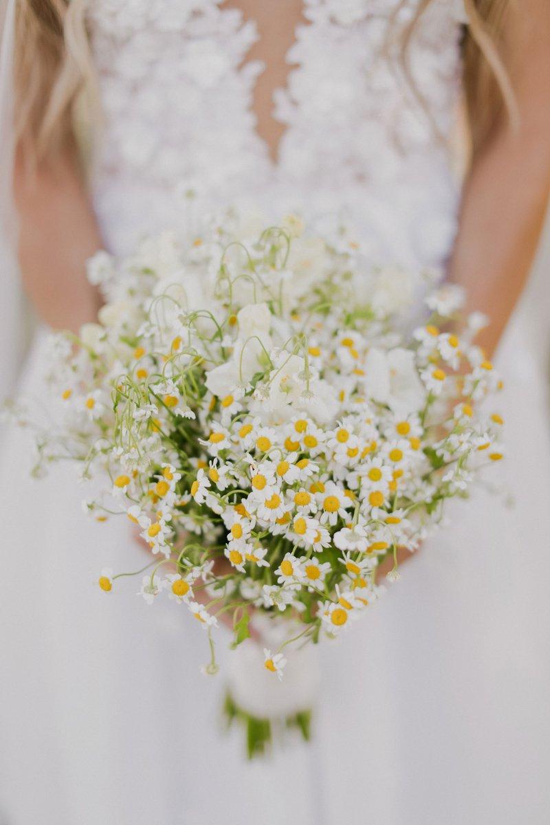 Chamomile Wedding Bouquet