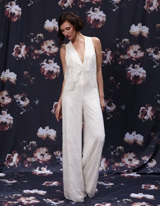 v-neck-lace-wedding-jumpsuit-by-ivy-and-aster-fall-2016