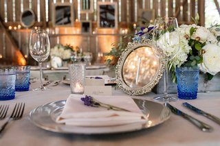 silver-mirror-table-number-at-melissa-claire-egans-wedding