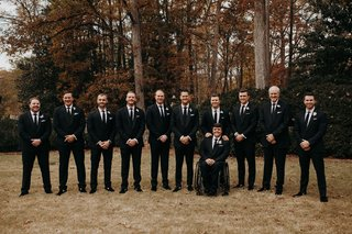 suzanna-villarreal-and-alex-wood-la-dodgers-wedding-groomsmen-kyle-farmer-shelby-miller