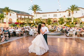 wedding-reception-hummingbird-nest-ranch-bride-in-galia-lahav-wedding-dress-dance-floor-first-dance