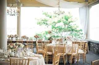 shabby-chic-wedding-reception-indoor-rhode-island-low-centerpiece-design
