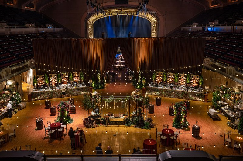 Tuscan-Inspired Reception at Convention Center