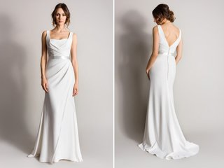 tank-strap-sheath-wedding-dress-with-v-back