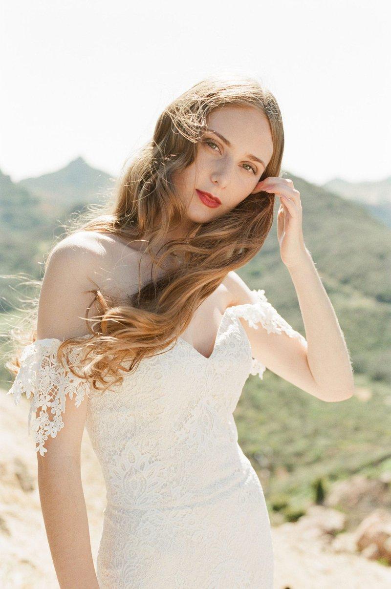 """""""Bordeaux"""" Bridal Gown by Claire Pettibone"""