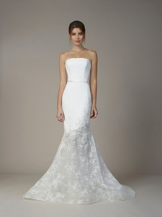 liancarlo-fall-2018-matte-crepe-hand-beaded-alencon-on-chantilly-lace-strapless-mermaid-gown