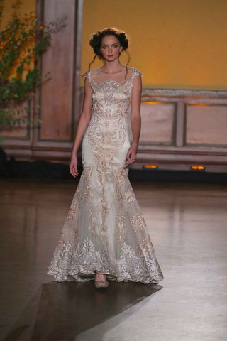 vanderbilt-rose-gold-embroidered-wedding-dress-from-the-gilded-age-collection-by-claire-pettibone