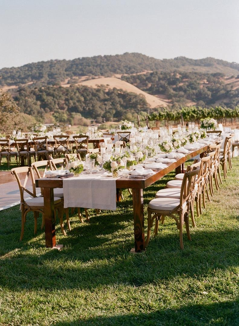 Vineyard Reception Décor