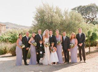mark-paul-gosselaar-with-bridesmaids-and-groomsmen