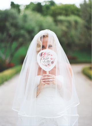 bride-in-carolina-herrera-veil-with-silk-trim