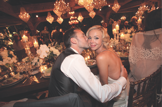 simone-harouche-designer-and-fashion-stylist-is-kissed-by-her-groom-at-reception