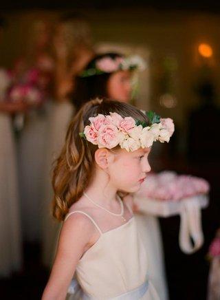 junior-bridesmaid-crown-of-flowers