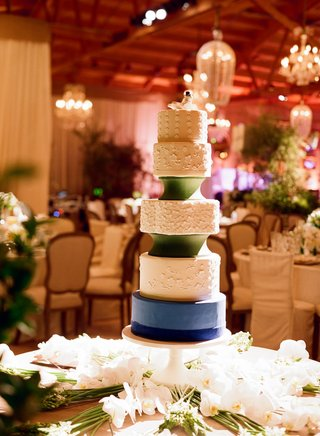 five-layer-round-cake-with-blue-and-green-fondant
