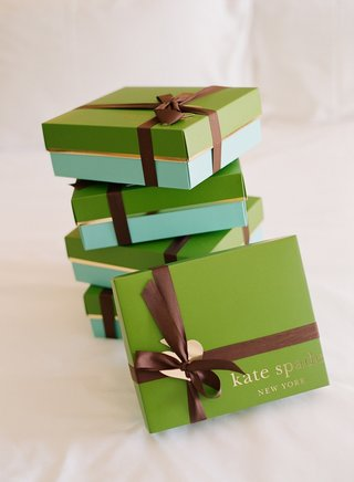 designer-kate-spade-boxes-wrapped-in-brown-ribbon