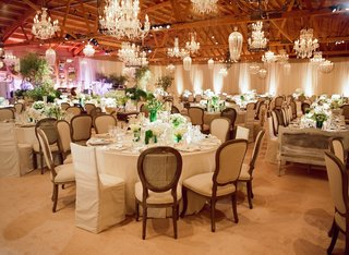 exposed-wooden-beams-and-chandeliers