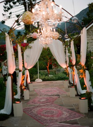 draped-entrance-to-outdoor-reception-space