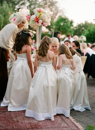 white-and-ivory-dresses-with-bows
