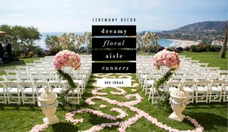 flower-petal-aisle-runners-at-wedding-ceremony