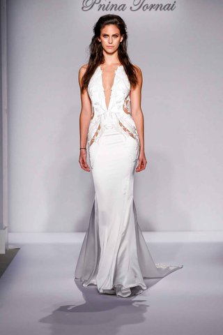pnina-tornai-for-kleinfeld-2016-cutout-wedding-dress-with-plunging-neckline