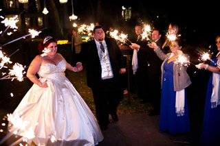 eve-of-milady-strapless-wedding-dress-on-bride-during-sparkler-exit-in-louisiana