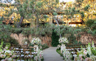 The Lodge at Torrey Pines - Signature Courtyard wedding venue