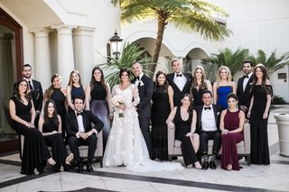 bride-in-gown-from-mark-ingram-atelier-groom-in-tuxedo-matron-of-honor-and-mother-in-romona-keveza