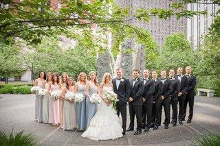 brian-leonard-stefanie-lombardo-colorful-bridal-party