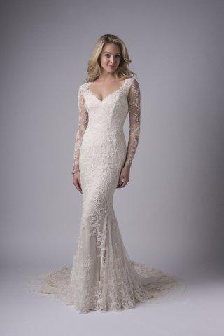derby-lace-gown-long-sleeves-keyhole-back-chapel-train-modern-trousseau-wedding-dress