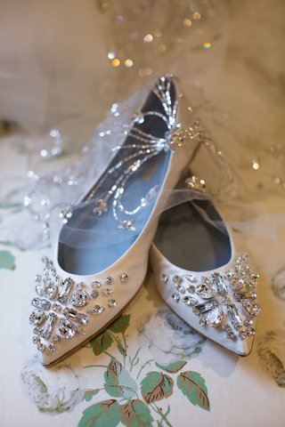 wedding-shoes-flats-silver-rhinestone-crystal-decals-on-toe-of-shoe-pointed-toe