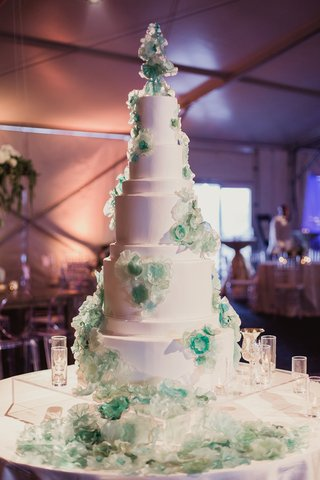 wedding-cake-with-chihuly-inspired-sugar-flowers-turquoise-blue-green