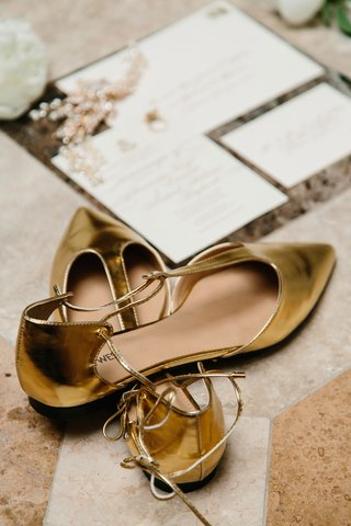 brides-gold-wedding-day-flats-t-strap-pump-flats-pointed-toe-pointy-toe-gold-metallic