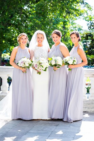 jasmine-bridesmaid-dresses-floor-length-bridesmaid-bride-white-lavender-purple-bouquets